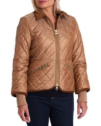 Barbour Icons Quilted Jacket - Metallic