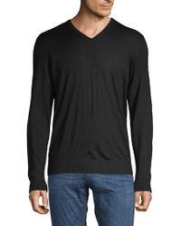Bugatti - Wool Blend Sweater - Lyst
