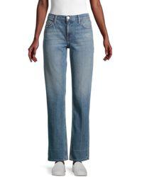 Current/Elliott Women's High-waist Jeans - Old Scene - Size 23 (00) - Blue