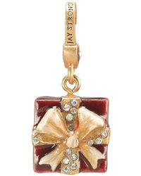 Jay Strongwater - Present Crystal Charm - Lyst