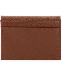 Cole Haan - Logo Engraved Leather Wallet - Lyst