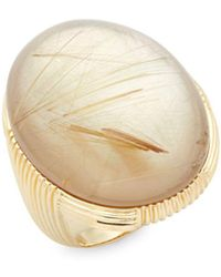 Roberto Coin - Mother-of-pearl And 18k Gold Ring - Lyst