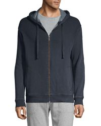 UGG Elliot Washed Fleece Zip Hoodie - Multicolor