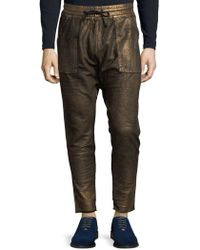 Robin's Jean - Cotton Jogger Trousers - Lyst