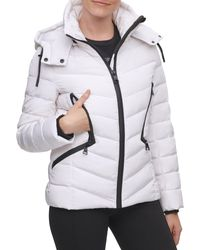 Karl Lagerfeld Down-filled Puffer Jacket - Multicolor