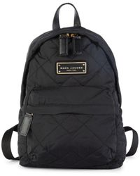 Marc Jacobs Women's Mini Quilted Backpack - Black