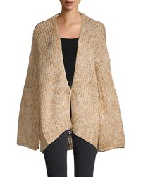 Free People Home Town Cardigan - Natural