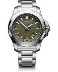 Victorinox Inox Stainless Steel Watch - Green