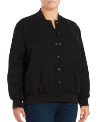 Vince Camuto - Bomber Jacket - Lyst