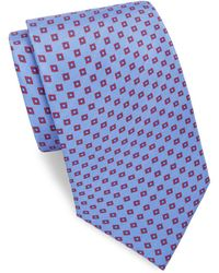 Brioni - Raw Box Silk Tie - Lyst