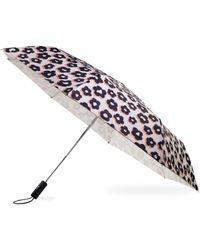 Kate Spade Flair Flora Travel Umbrella - Multicolour