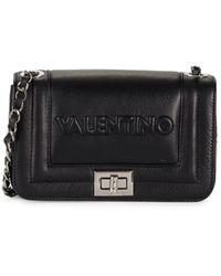 Valentino By Mario Valentino Beatriz Leather Crossbody Bag - Black