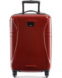 Tumi International 21.25-inch Hard Shell Carry-on Luggage - Red
