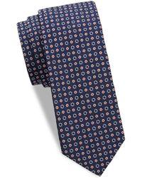 Eton of Sweden - Polka-dot Silk Tie - Lyst