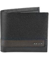 Bally Lollten Bifold Leather Wallet - Black