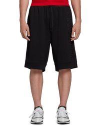 Y-3 Men's U Ch2 Gfx Mesh Shorts - Black - Size M