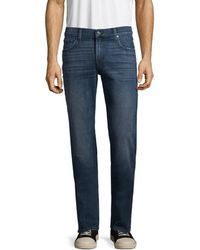 7 For All Mankind Men's Slimmy Faded Jeans - Redondo - Size 29 - Blue