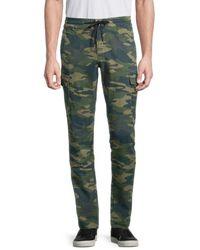True Religion Cotton Cargo Pants - Green