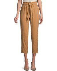 BCBGeneration High-waist Paperbag Trousers - Multicolour