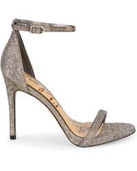 Sam Edelman Ariella Metallic Stilettos