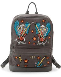 Zadig & Voltaire Arizona Embroidered Backpack - Multicolour