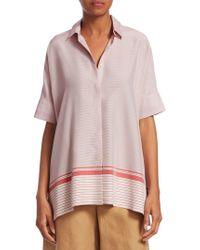 Loro Piana - Camicie Ariane Martigues Stripe Shirt - Lyst