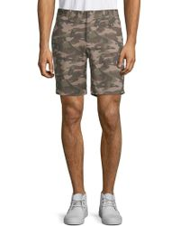 Slate & Stone - Novelty Ross Camo Cotton Shorts - Lyst