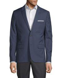 The Kooples - Textured Wool Suit Jacket - Lyst