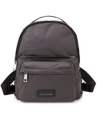 4aa0eee108ce Marc Jacobs - Large Logo-patch Nylon Backpack - Lyst