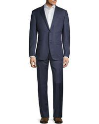 Corneliani Regular-fit Virgin Wool Suit - Blue