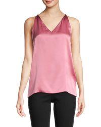 Ferragamo Silk Camisole - Pink