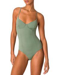 Onia Chelsea One-piece Swimwear - Green