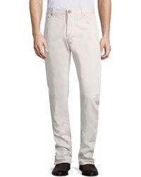 Isaia 5-pocket Jeans - Grey