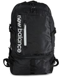 New Balance Men's Commuter Logo Backpack - Black