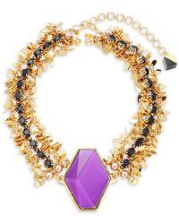 Nocturne - Ryu Choker Necklace - Lyst