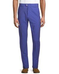 Greyson Men's Sugar Bee Trousers - Eerie - Size 34 32 - Blue