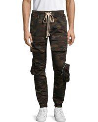 1d09217c84 Camouflage Cargo Pants - Black