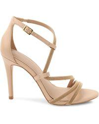 BCBGeneration Jalila Micro-stud Sandals - Metallic