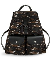 Longchamp - Classic Printed Backpack - Lyst