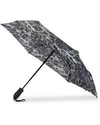 Shedrain Marble Folding Umbrella - Black