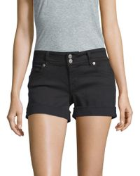 Hudson Jeans - Classic Buttoned Shorts - Lyst