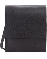 Steven Alan Martin Flap Leather Crossbody Bag - Green