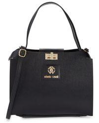 Roberto Cavalli Women's 2-piece Crossbody Bag & Pouch Set - Nero - Black