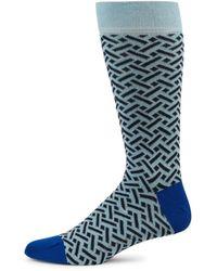 Ted Baker Men's Two-piece Shoehorn & Crew Socks Gift Set - Blue