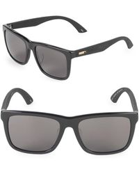 PUMA - 56mm Square Sunglasses - Lyst