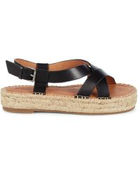 Madewell Women's Malia Espadrille Sandals - True Black - Size 6.5