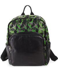 Giuseppe Zanotti - Leather & Textile Camo Backpack - Lyst