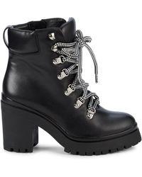 Rebecca Minkoff Rm-maihlo Leather Boots - Black