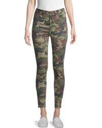 True Religion Women's Halle Camo-print Jeans - Camo - Size 24 (0) - Green