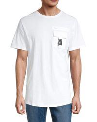 NANA JUDY Patch Pocket T-shirt - White